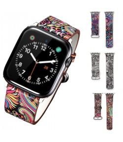 Pulsera Piel sintética para Apple Watch de Colores 42mm 44mm Serie 5 / 4 / 3 / 2 / 1