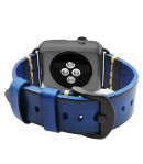 Pulsera de Cuero Genuino para Apple Watch Color Degradado Vintage 42mm/44mm iWatch Series 5/4/3/2/1