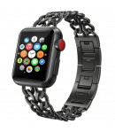 Pulsera Esclava Acero Inox Diseño Cadenas para Apple Watch 42mm/44mm iWatch Series 5/4/3/2/1