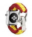 Pulsera de Cuerda para Apple Watch de España Cierre Seguridad Inoxidable 42-44mm Series 5-4-3-2-1